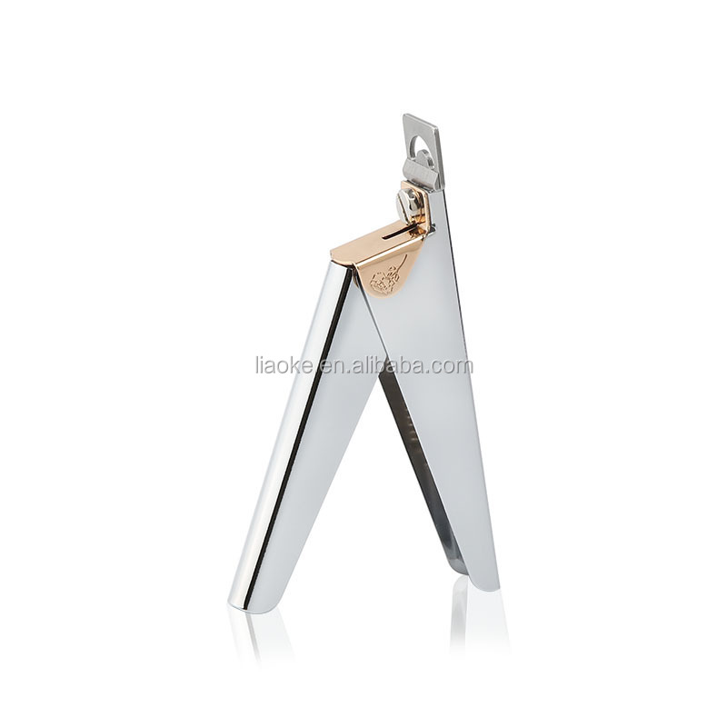 High quality New Colorful 3 colors Nail Cutter Stainless Steel Manicure Nail Clipper Edge Cutter