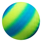 Logo Customization Toy Ball Kickball ActEarlier Kids Toy 8.5 Inch PVC Inflatable Rainbow Playground Ball Kickball