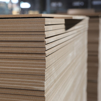 Pine wood 2.7mm mdf board /raw mdf sheet /mdf furniture in Top-class quality carb P2