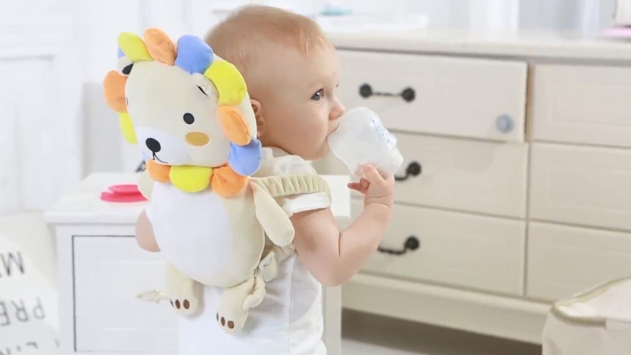 Vendita calda Del Bambino Toddlers Testa e Spalla di Sicurezza di Protezione di Sicurezza Del Bambino Poggiatesta Protezione Cuscino/Pad