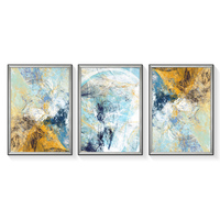 New design printed beautiful abstract painting on canvas for home