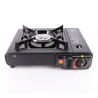 Camping Portable Lightweight High-quality Safety Propane Butane Gas Stove With Plastic Box