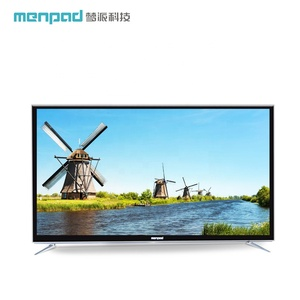 self model wifi FHD OD15 network mirror 50 inch 4k 1G+8G led tempered glass commercial TV D50GFB