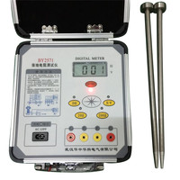 HZHK 300 digital clampon earth tester price ground resistance test equipment