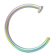 18 г, 20 г, 22 г, 6 мм, 8 мм, 10 мм, искусственный пирсинг, ювелирные изделия, Поддельные кольца для носа, искусственная перегородка для губ, ювелирны...(China)