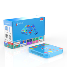 Nuevo modelo H96 mini 4/128GB Allwinner H6 Android 9,0 <span class=keywords><strong>OS</strong></span> Smart Tv Box H96 mini