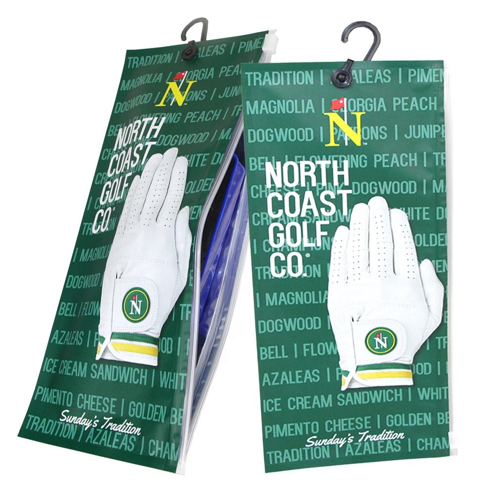 Lage Moq Aangepaste Gedrukt Hersluitbare Ziplock Plastic Pouch Voor Kleding Sokken Opknoping Tas