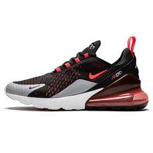 Nike Air Max 270 спортивная обувь для мужчин, новые спортивные уличные кроссовки, модная спортивная Дизайнерская обувь для бега, AQ9164-100(Китай)