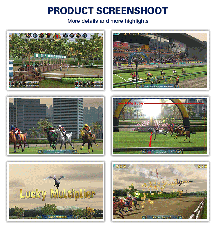 Horse Racing Legend Video Gaming Machine Horse slot Arcade Game Machine