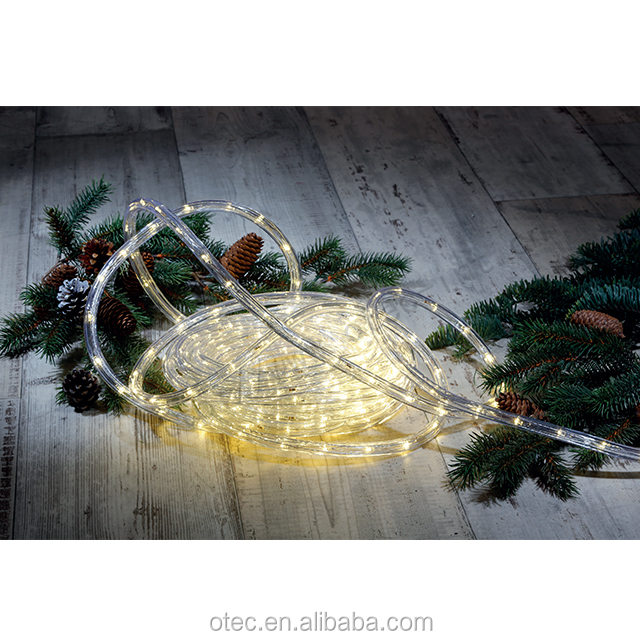 Outdoor Waterproof  flexible LED multicolor Rope Light For Christmas Wedding Decoration