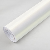Carbins 1.52*18m Self Adhesive White to Gold Gloss Chrome Car Wrap Color Change Chameleon Vinyl Film