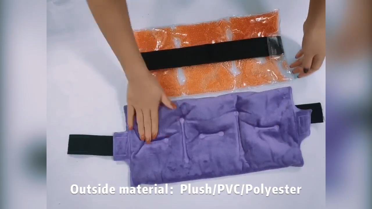Нейлоновый гель лед горячий и холодный пакет brace грелку для колена лодыжки боли в запястье