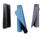 PIDO pu natural rubber black and the other yoga mat with body line exercise mat