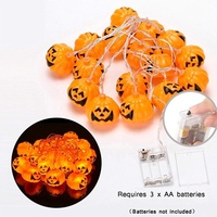 Halloween Fairy LED Copper/Silver Wire Christmas Lights Strings Decoration