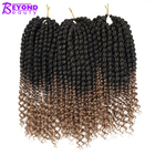 Products Twist Twisted Crochet Braid Hair Curly Twist New Natural Color Synthetic Hair Fiber Products Vendors Crochet Braids Senegalese Twist Ombre Senegelese Twisted Hair Curly End