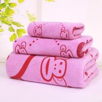 Home Textiles China Printed Microfiber Bath Towels Set