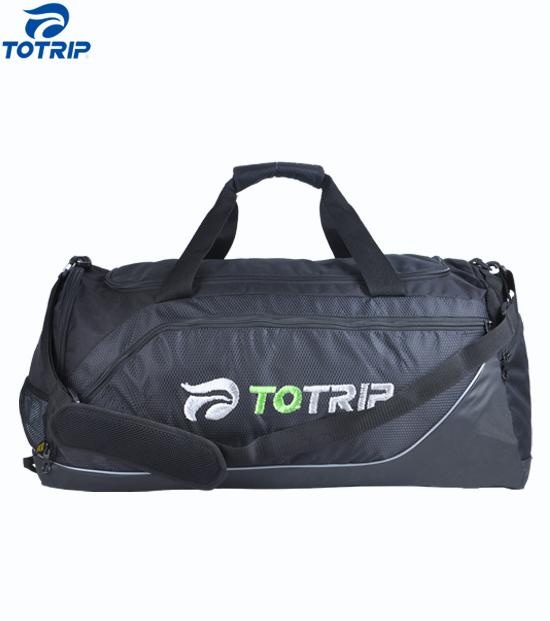 Newest sport shoes pocket travel gym men travel duffel bags