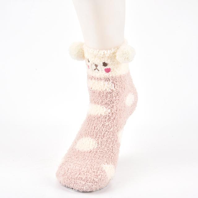 Details about  /Women Cartoon Colorful 3D Print Cotton Socks Winter Christmas Lovely Girls Socks