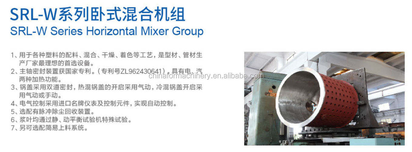 High quality high speed mixer