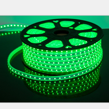 High Voltage LED Strip Light 5050 Waterproof Heat Resistant Color Changing RGB LED Strip Light