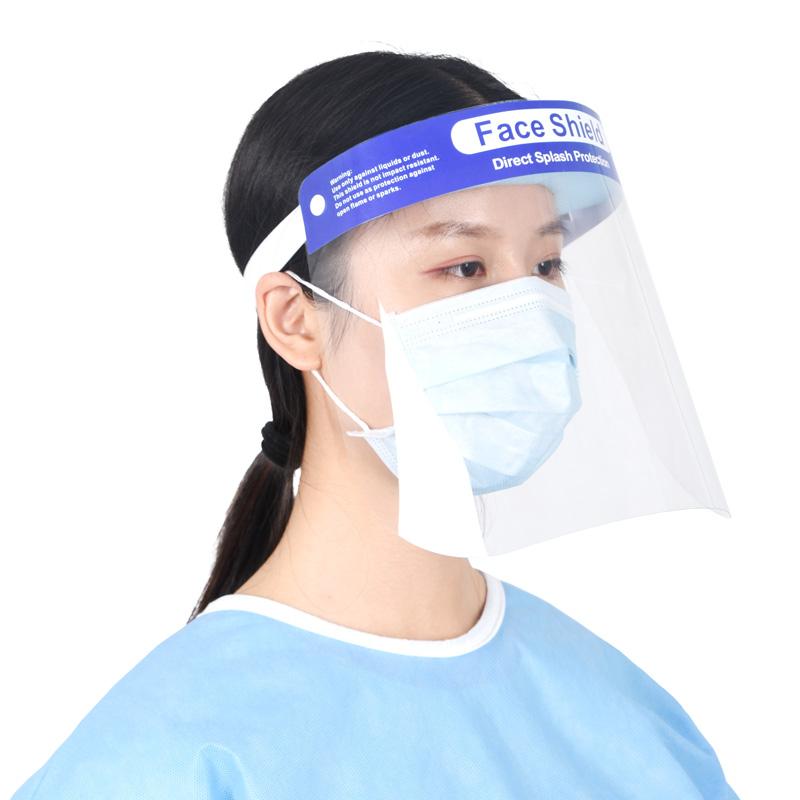Anti Nebel Gesicht Schild Transparent Sicherheit Gesicht Schild Visiere Schutz Gesicht Abdeckung