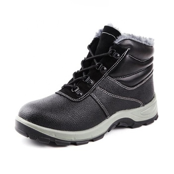 Woodland Leather Working Safety Shoes