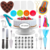 Low MOQ 223 PCS and More Than 100 PCS Complete Cake Baking Supplies Kit Cake Stand Turntable Cake Decorating Tools Set