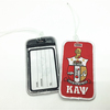 Kapp Alpha Psi Embroidered Airplane Luggage Tag Wholesale Free Sample