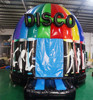 Commercial Colorful Light Inflatable Disco Bouncer