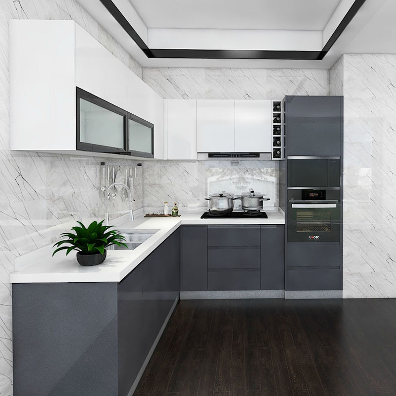 Modern Modular Classic Design Kitchen Cabinets Wooden Buy Modular Kitchen Cabinets Modern Modular Kitchen Cabinet Design Kitchen Cabinets Product On Alibaba Com