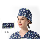 Nurse Printed Medical Nurse Print Head Cotton Surgical Hood