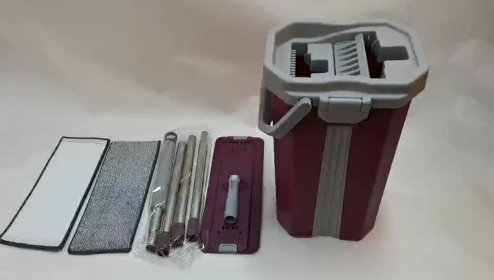 Flat squeeze mop and bucket set SCM-20