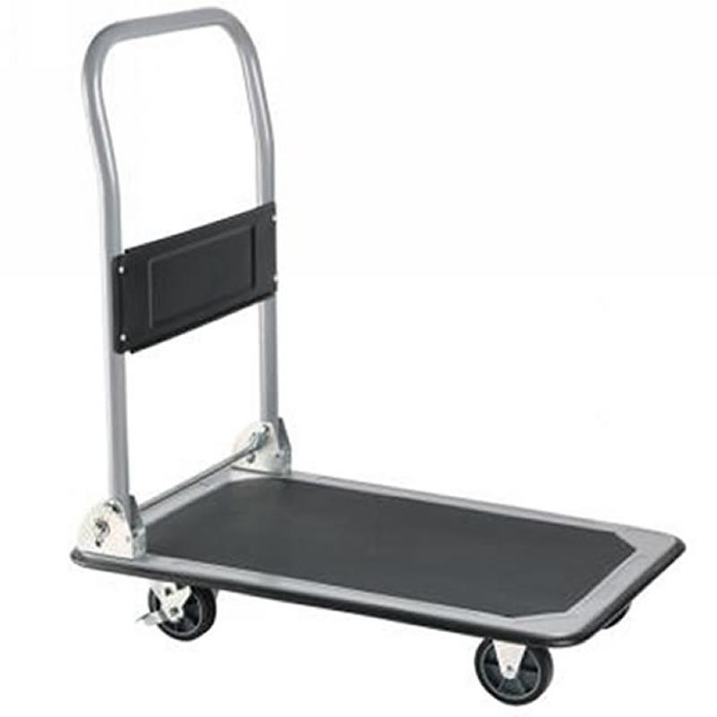 150kg Folding Flat Bed Platform Hand Truck Trolley
