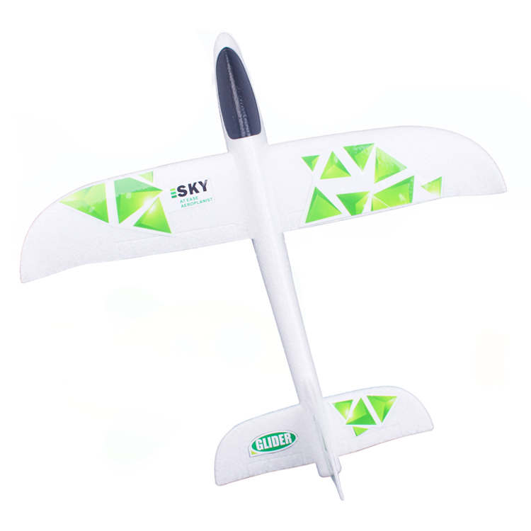 Popular outdoor Flying Glider toys foam hands throw gliders model aircraft toys kid's DIY educational toys launch gliders fun