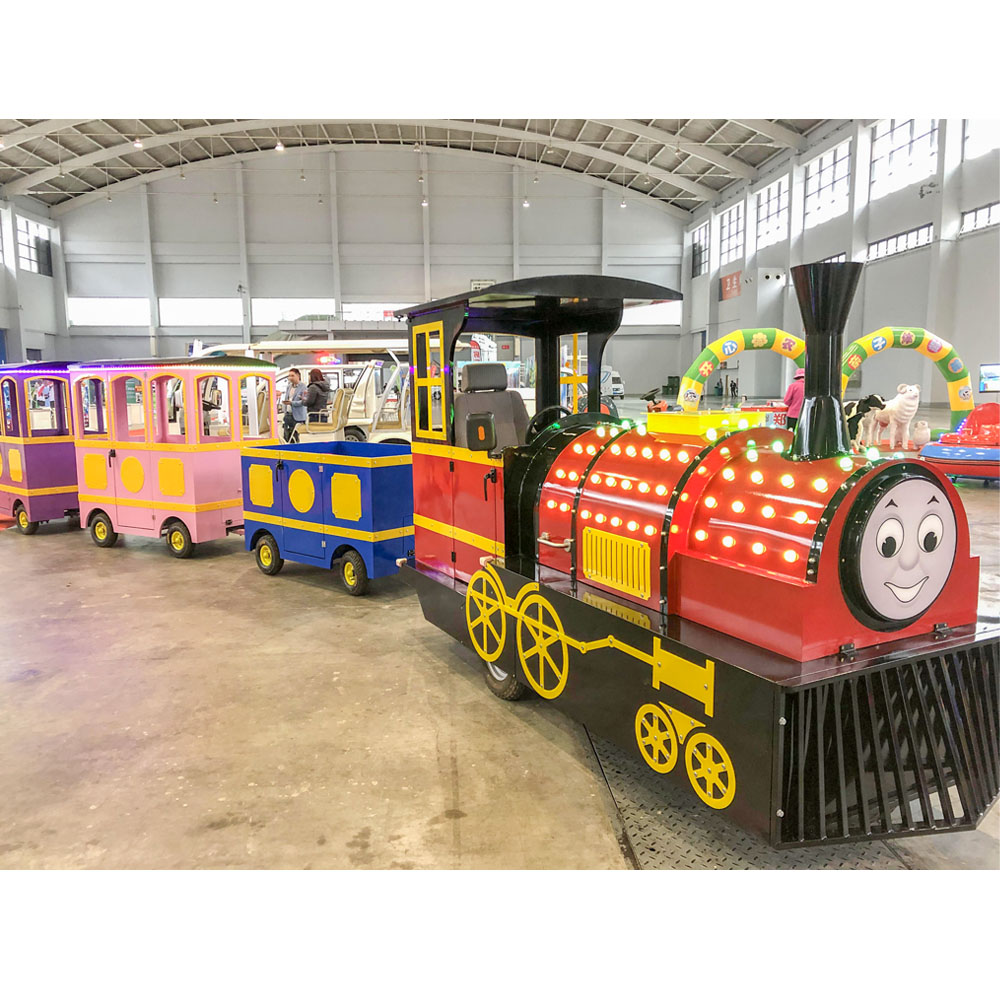 New Design Amusement Park Ride Kids Electric Mini Tourist Kiddie Trackless Train <strong>For</strong> <strong>Sale</strong>