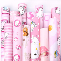 Cartoon Wallpapers/wall Coating Baby Bedroom Wall Paper Decoration PVC Self Adhesive Kids Wallpaper
