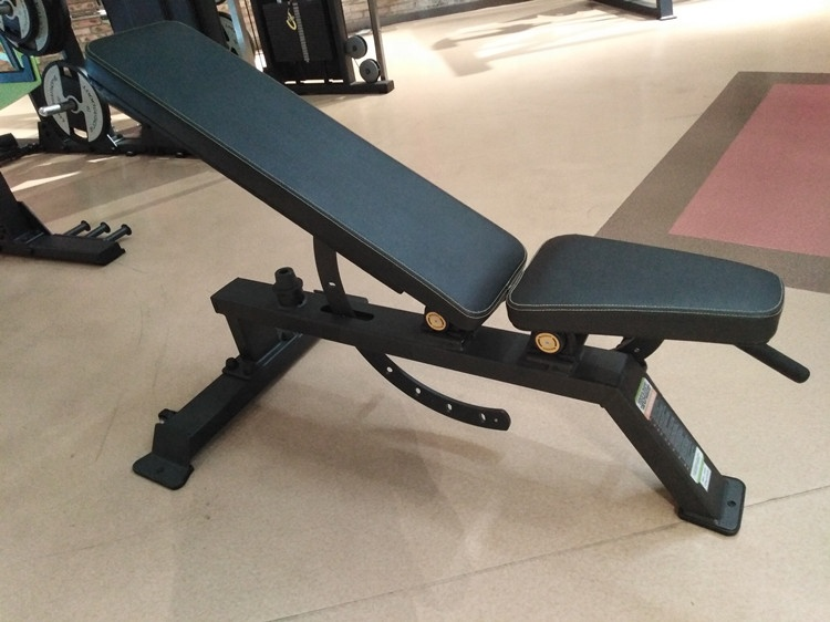 High quality weight training commercial gym fitness equipment super adjustable bench SEH31