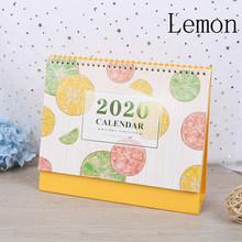 2020 Арбуз Лимон свежие фрукты серии календарь DIY Настольный календарь ежедневный планировщик 2019,07 ~ 2020,12(Китай)
