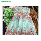 provide fashion used clothing for ladies silk dress in bulk