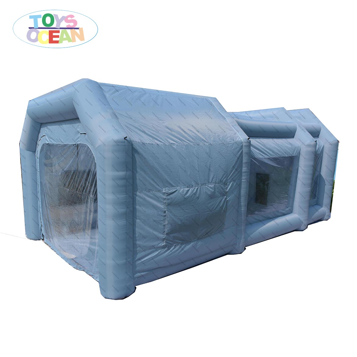 oxford material Car Inflatable Spray Booth Painting room with filter filtro para cabina de pintura