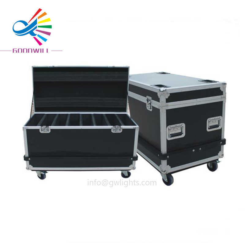 Factory direct supply aluminum durable tool flight case with casters