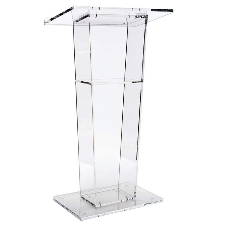 Wholesaler Acrylic Lectern Podium Pulpit For School, Church or Meeting Room