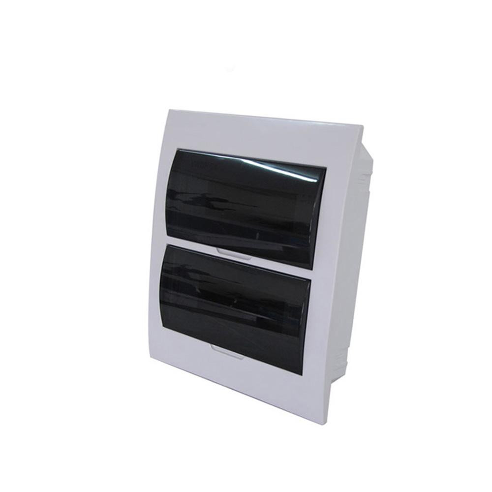 ZCEBOX открытый поверхностного монтажа заподлицо 36 способ MCB ABS распределительная панель доска три ряда распределительная коробка