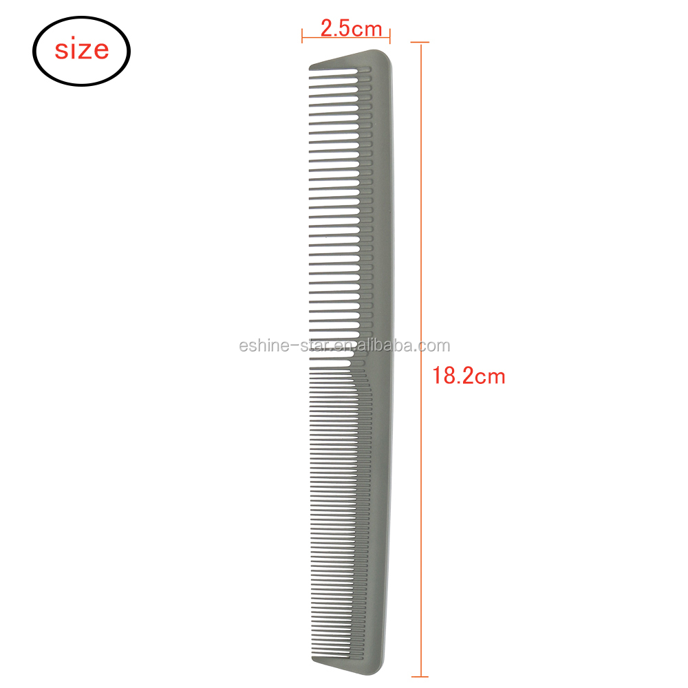 Private label hair salon  beauty use carbon hair cutting barber hair comb