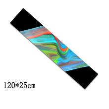 120 см Танцующая длинная доска Griptapes длинная доска ручка лента скейтборд Griptapes анти-скользящая наждачная бумага красочная графическая Защитн...(Китай)