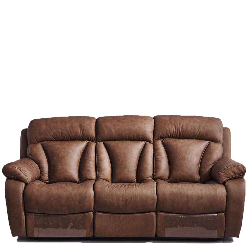 Lorenzo Leather 3 Seat Recliner Sofa Covers