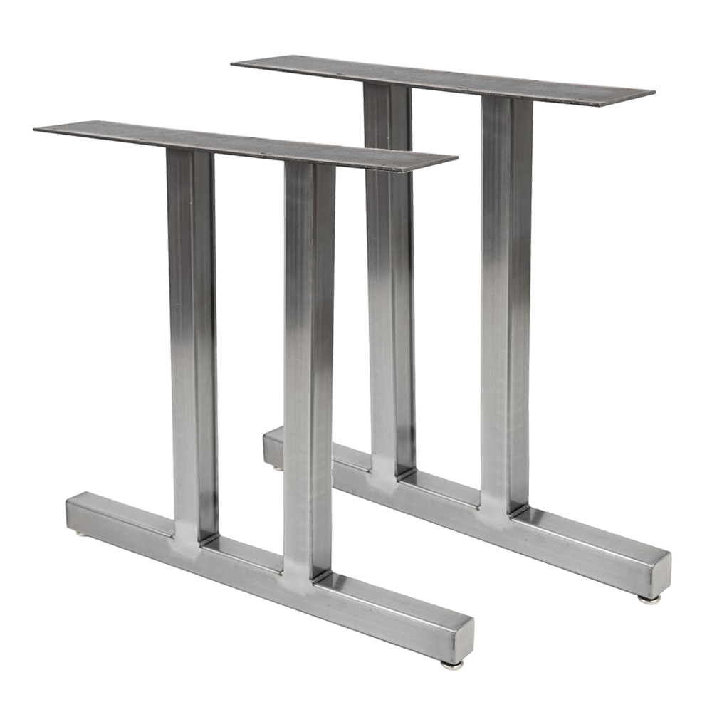 Cheap Price Steel Metal T Shape Stainless Steel Dining Table Legs