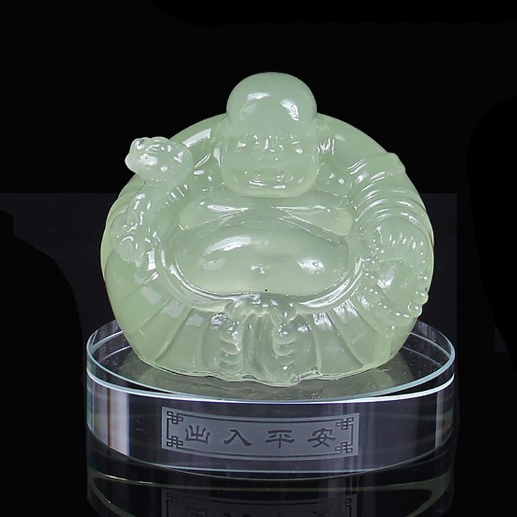 Budista Buda Maitreya ornamentos Mascote lembrança mesa de trabalho Dom artigos de decoração Do Carro