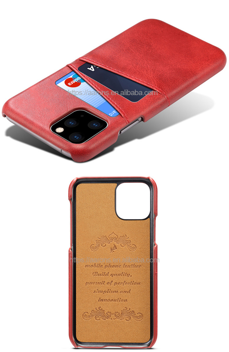 Hot sales various colors luxury phone case shockproof leather back cover case for iPhone 11/ iPhone 11 Pro/ iPhone 11 Pro Max