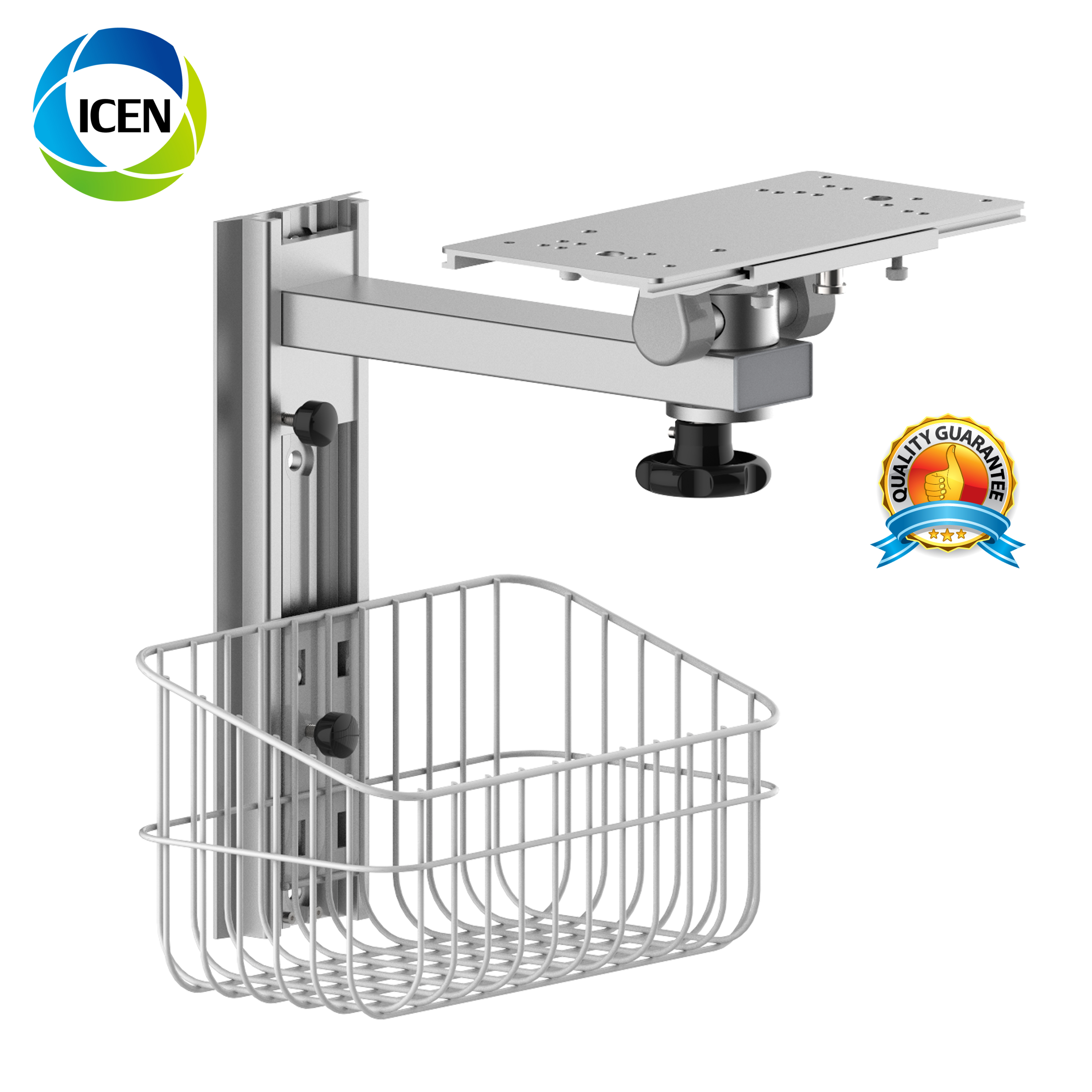 IN-C2 Portable Fixed Ambulance Hospital  Trolley  Patient Monitor Wall Mount